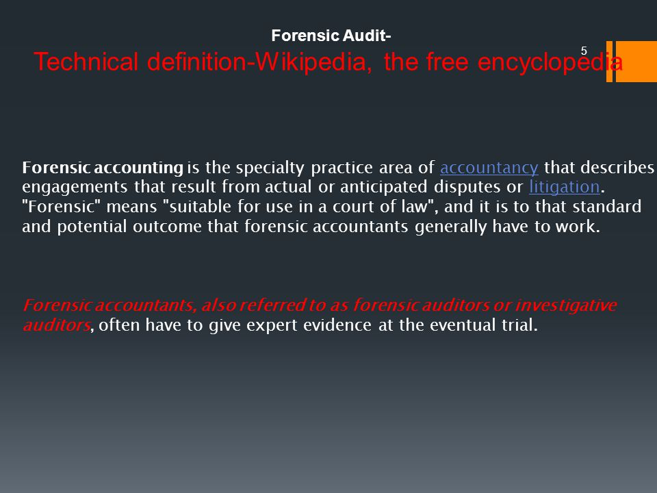 1. Forensic Accounting Its Meaning and relevance to Chartered Accountants