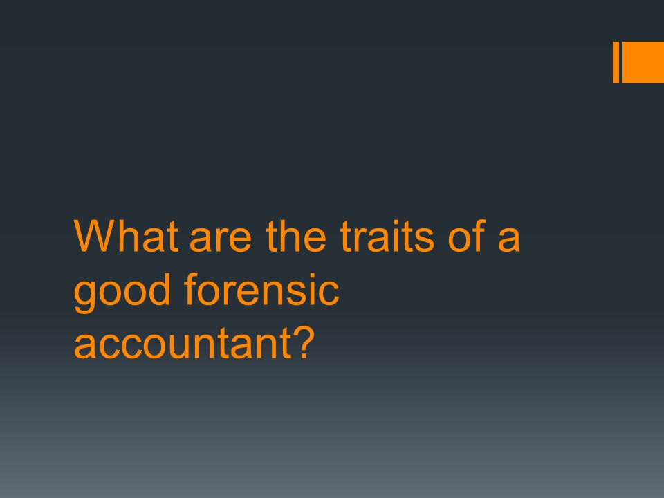 Forensic Audit is all about examination and collection of evidence admissible in a court of law.