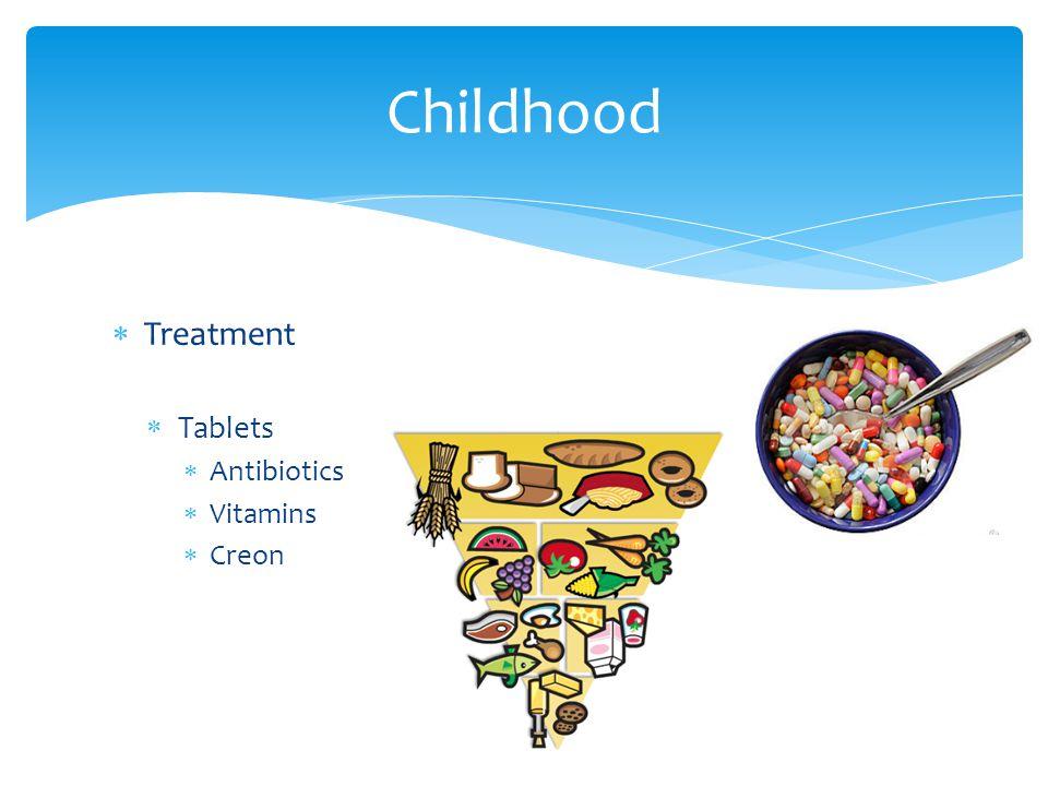  Treatment  Tablets  Antibiotics  Vitamins  Creon Childhood