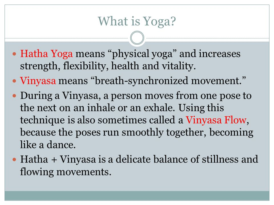What is Yoga.