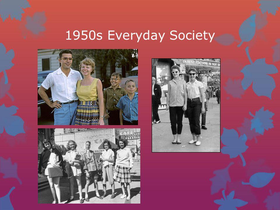 1950s Everyday Society