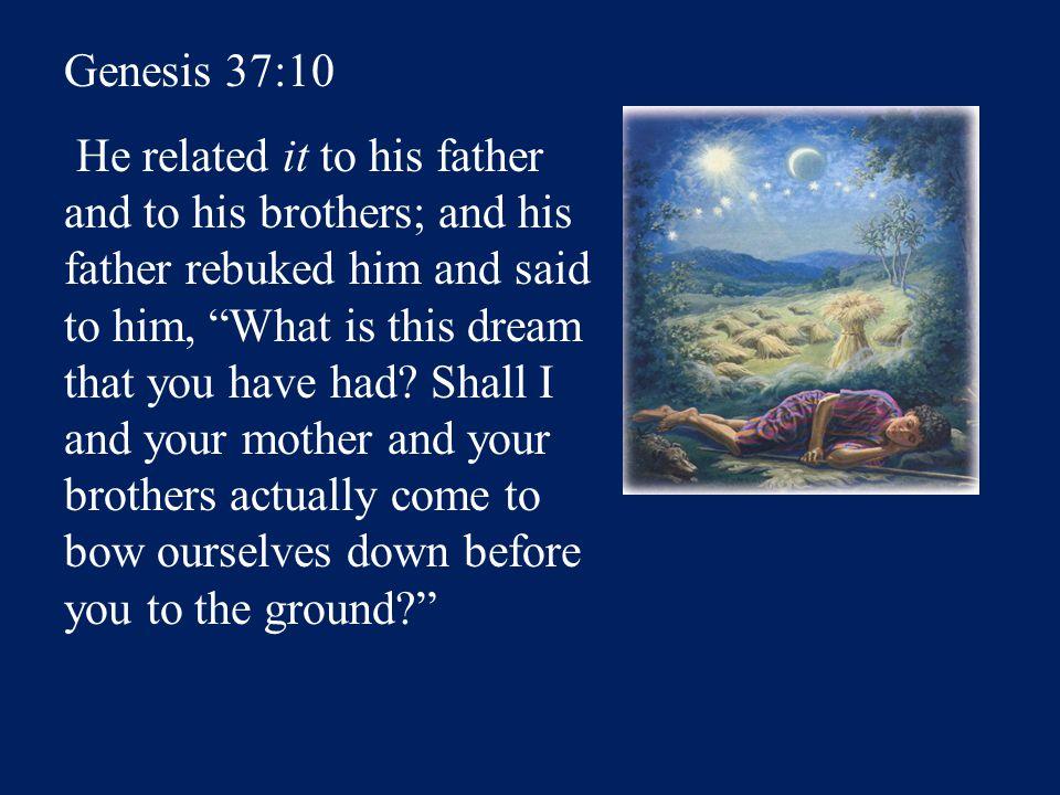 Sun = Jacob Moon = Leah 11 Stars=Joseph's brothers 12 th Star = Joseph 12 Stars=Israel's twelve tribes