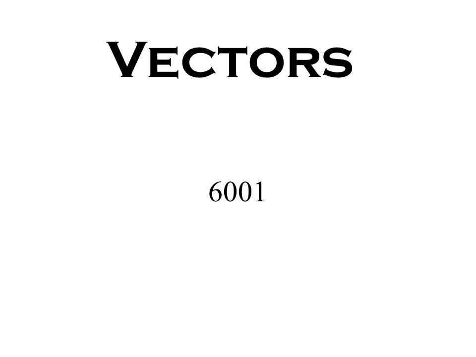 INTRODUCTION SCALAR QUANTITIES: _______________________________________________________ VECTOR QUANTITIES: ________________________________________________________ Geometry: Line Segment Vector Magnitude only Magnitude and direction length