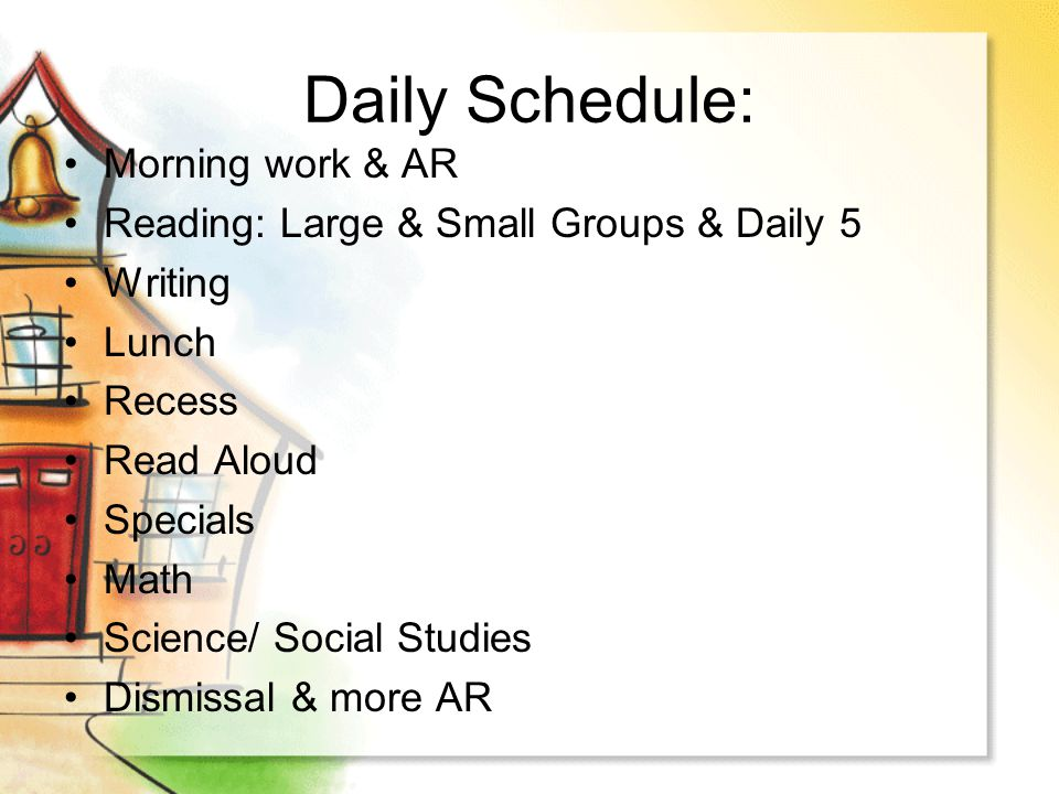 Attendance/Tardy  8:00: students can come onto campus and can enter into our classroom to start their morning work.