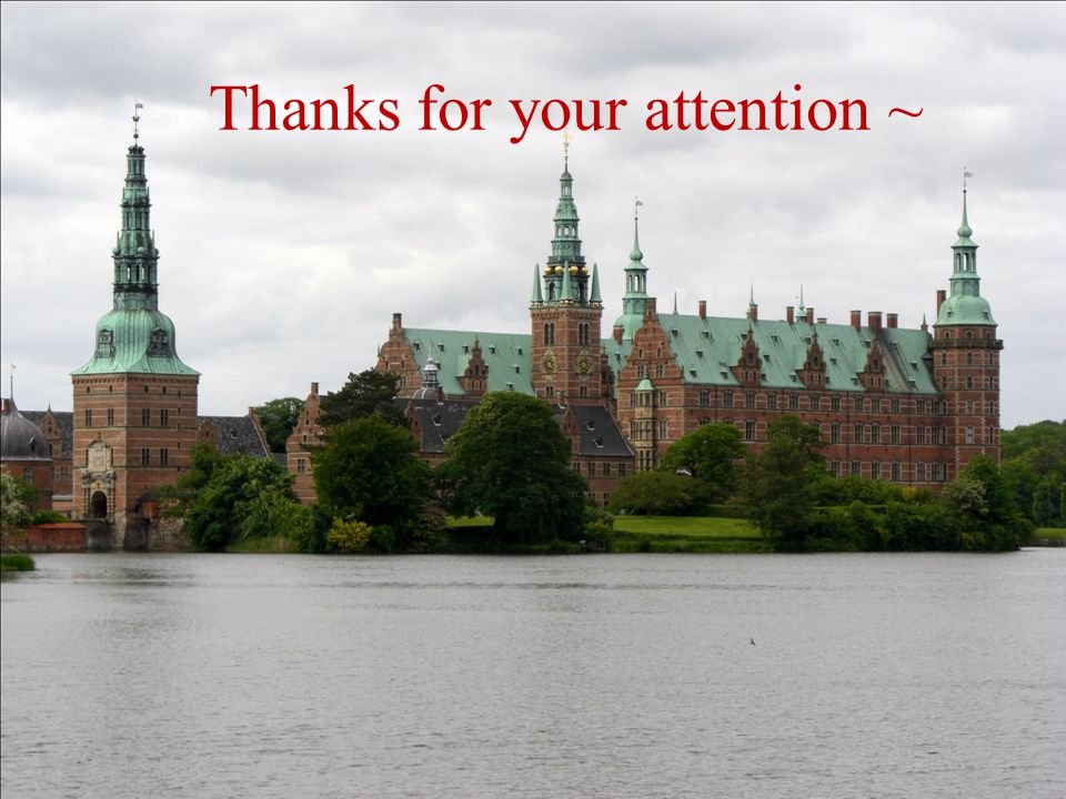 Thanks for your attention ~