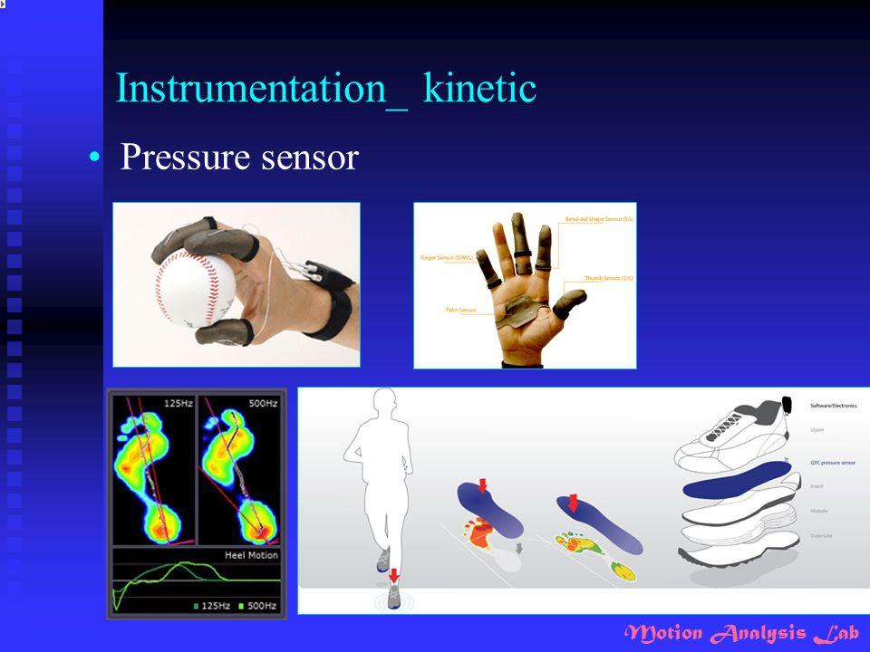 Motion Analysis Lab Instrumentation_ kinetic Pressure sensor