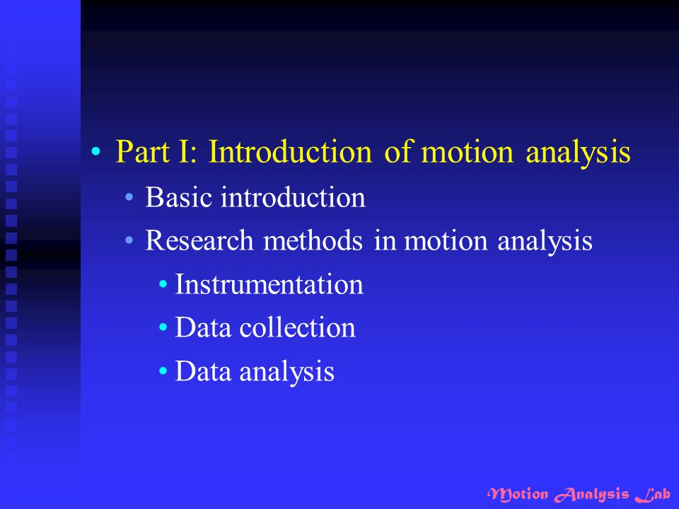 Motion Analysis Lab Crouch Gait Results show that crouch gait usually has larger and long-lasting knee extensor moments at stance.