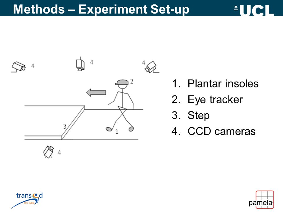 Analysis and Preliminary Results Screenshot from CCD cameras shows the stepping process.