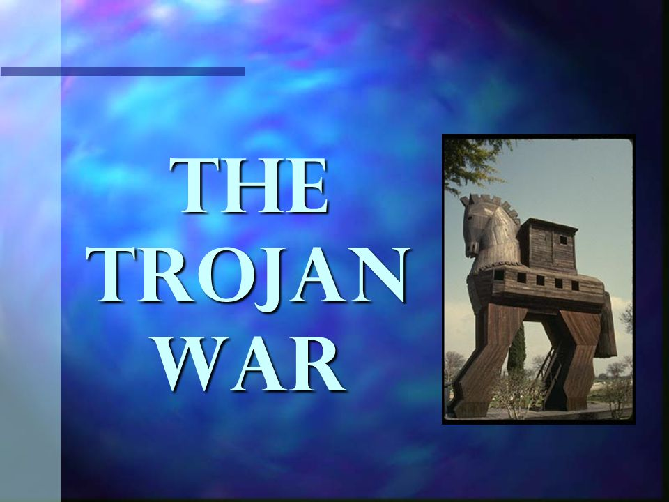 n The Trojan War actually occurred; the city of Troy fell into the hands of the Greeks.