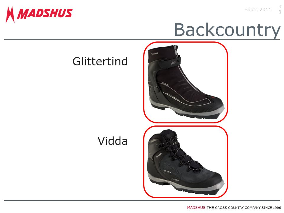 MADSHUS THE CROSS COUNTRY COMPANY SINCE 1906 Glittertind Vidda Boots 201138 Backcountry