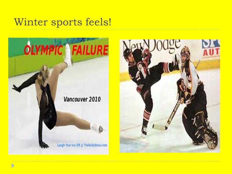 Winter sports feels!