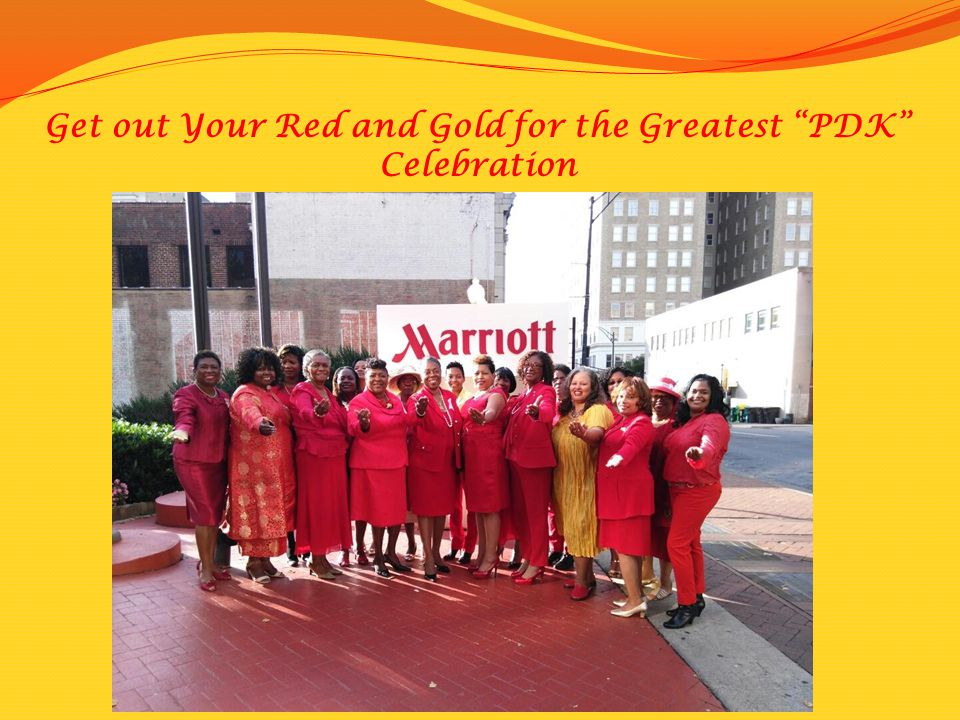 "Get out Your Red and Gold for the Greatest ""PDK"" Celebration"