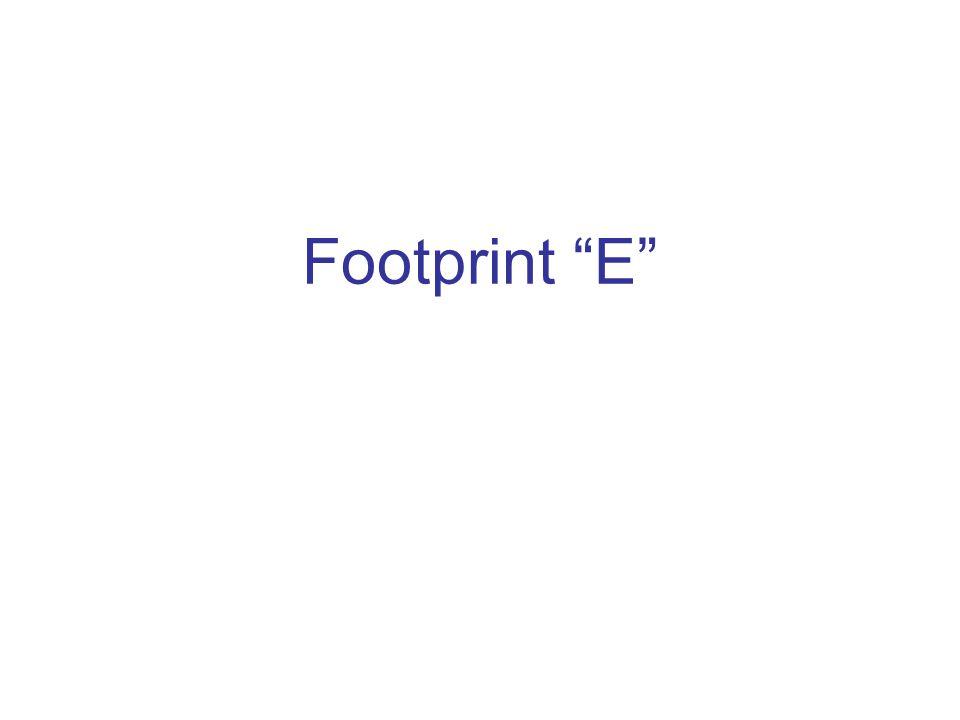 Footprint E
