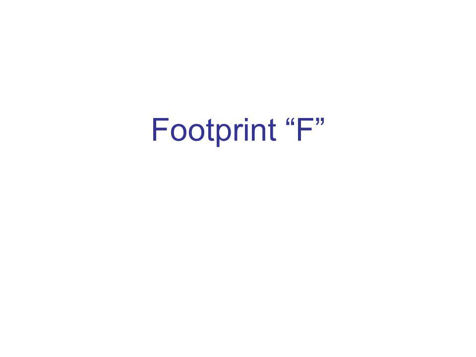 Footprint F