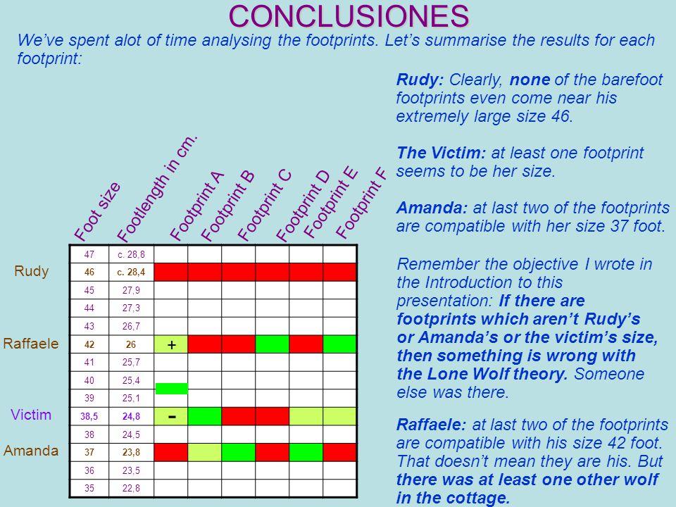 CONCLUSIONES 47c. 28,8 46c.
