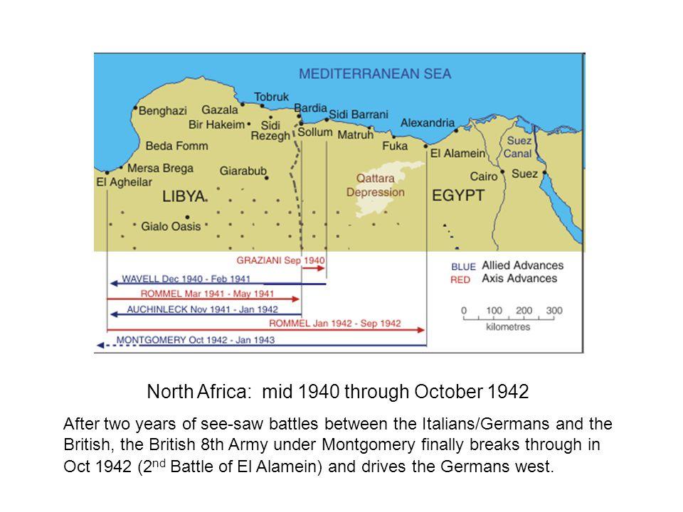 World War II European Theater North Africa
