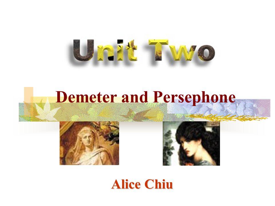 Alice Chiu Demeter and Persephone