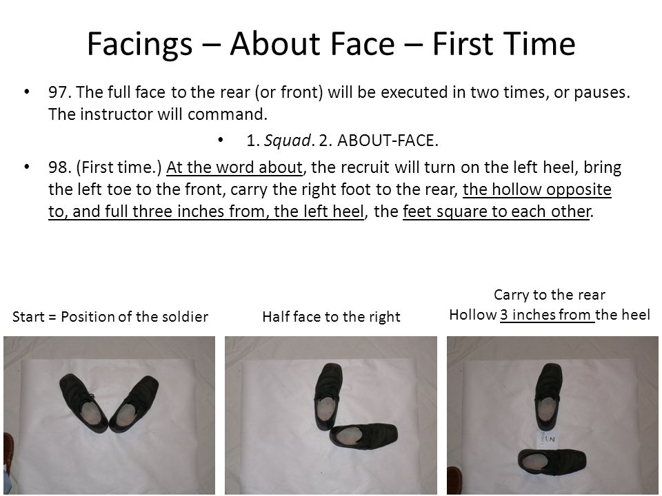 Facings – About Face – First Time 97.