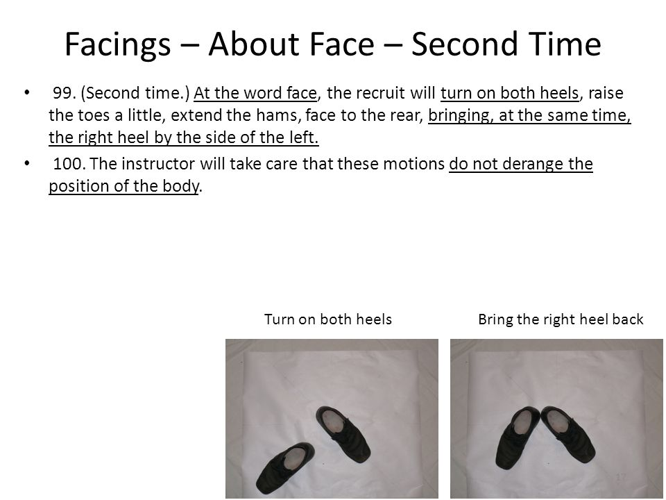 Facings – About Face – Second Time 99.