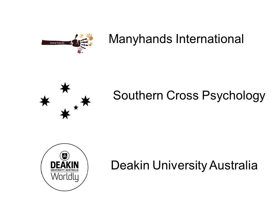 Manyhands International Southern Cross Psychology Deakin University Australia