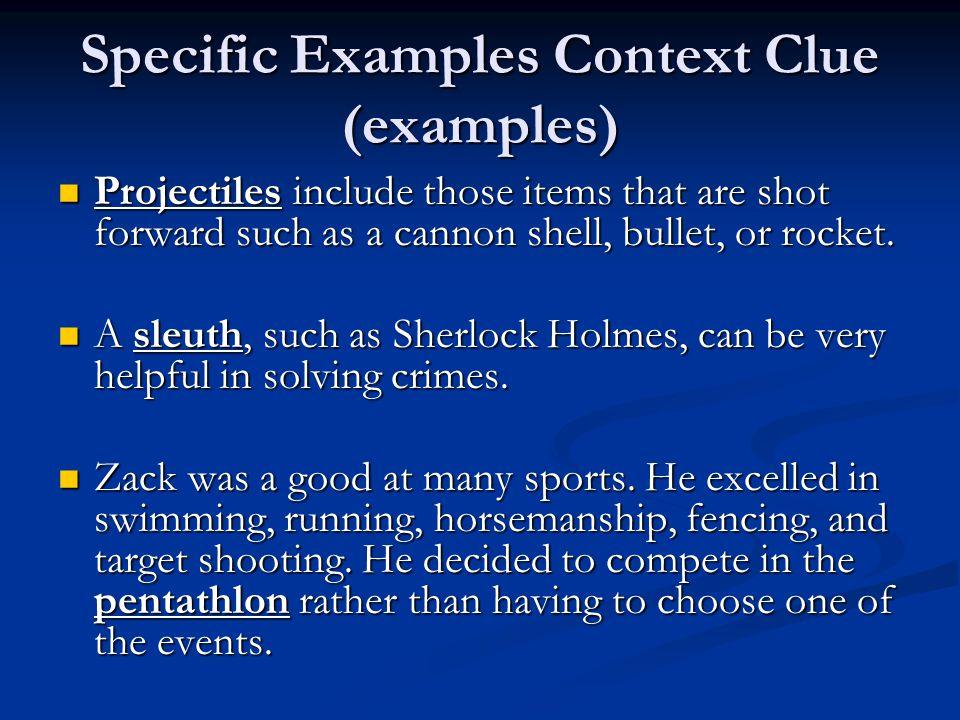 Practice Context Clues http://www.tlsbooks.com/contextclues.pdf Context Clues http://www.tlsbooks.com/contextclues.pdf http://www.tlsbooks.com/contextclues.pdf Direct Definition Context Clues http://www.manatee.k12.fl.us/sites/elementary/samos et/ccdirect.htm Direct Definition Context Clues http://www.manatee.k12.fl.us/sites/elementary/samos et/ccdirect.htm http://www.manatee.k12.fl.us/sites/elementary/samos et/ccdirect.htm http://www.manatee.k12.fl.us/sites/elementary/samos et/ccdirect.htm Using Context Clues http://www.internet4classrooms.com/assessment_assi stance/assessment_preparation_language_arts_context _clues.htm Using Context Clues http://www.internet4classrooms.com/assessment_assi stance/assessment_preparation_language_arts_context _clues.htm http://www.internet4classrooms.com/assessment_assi stance/assessment_preparation_language_arts_context _clues.htm http://www.internet4classrooms.com/assessment_assi stance/assessment_preparation_language_arts_context _clues.htm