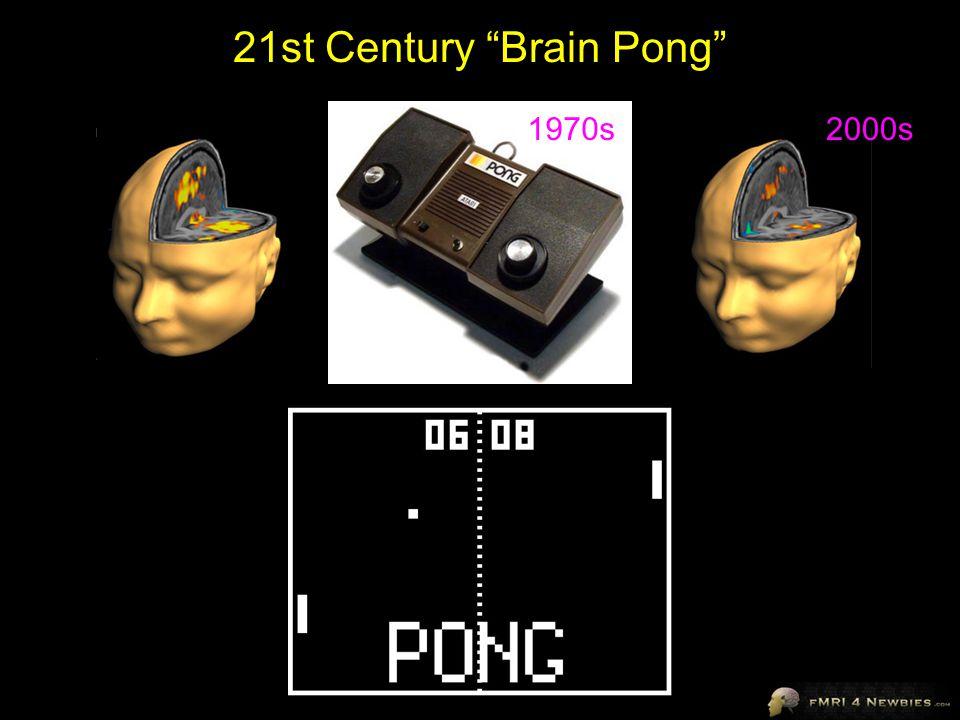 21st Century Brain Pong 1970s 2000s