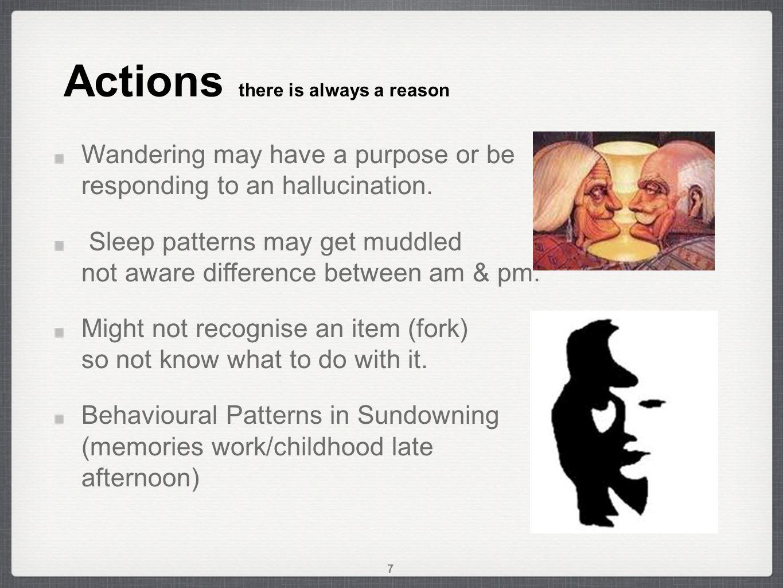 Dementia Always a reason Feelings remain Patterns continue Always a reason Feelings remain Patterns continue 18
