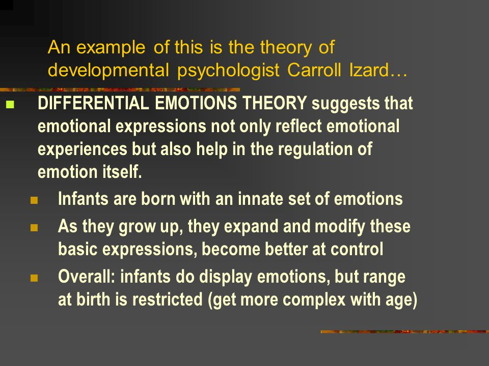 Does this mean that they experience emotions though.