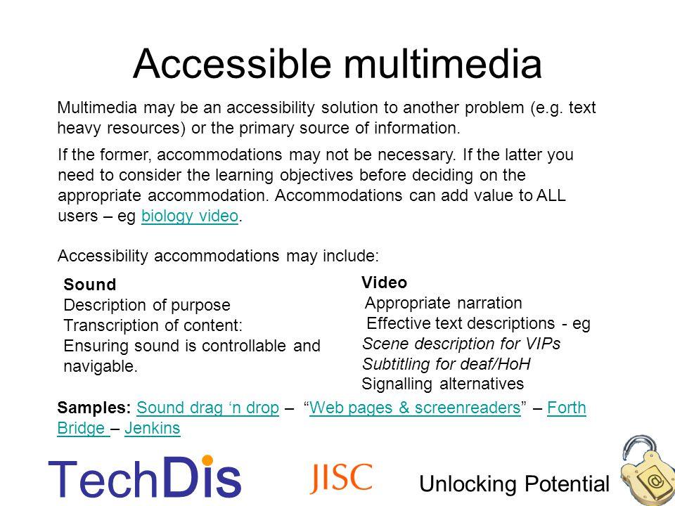 Unlocking Potential Tech Dis