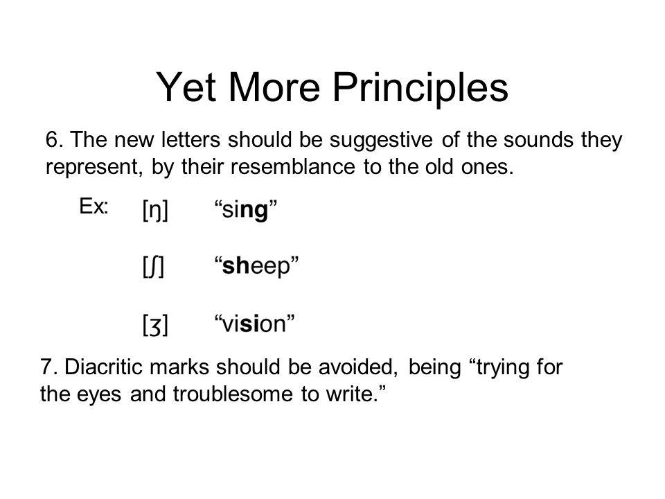 More IPA Principles 3.