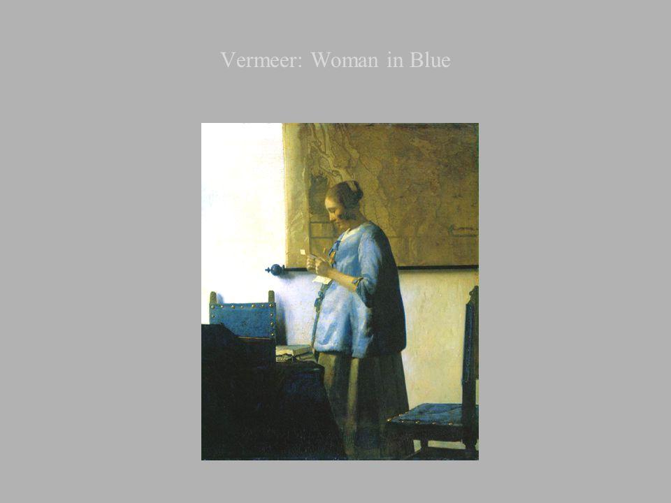 Vermeer: Woman in Blue