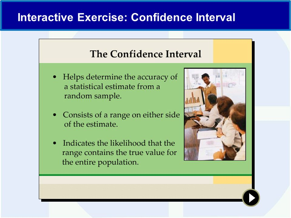 Interactive Exercise: Confidence Interval