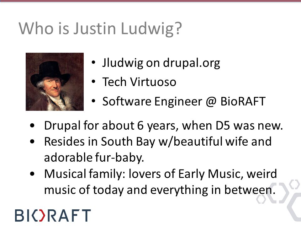 Who is Justin Ludwig.