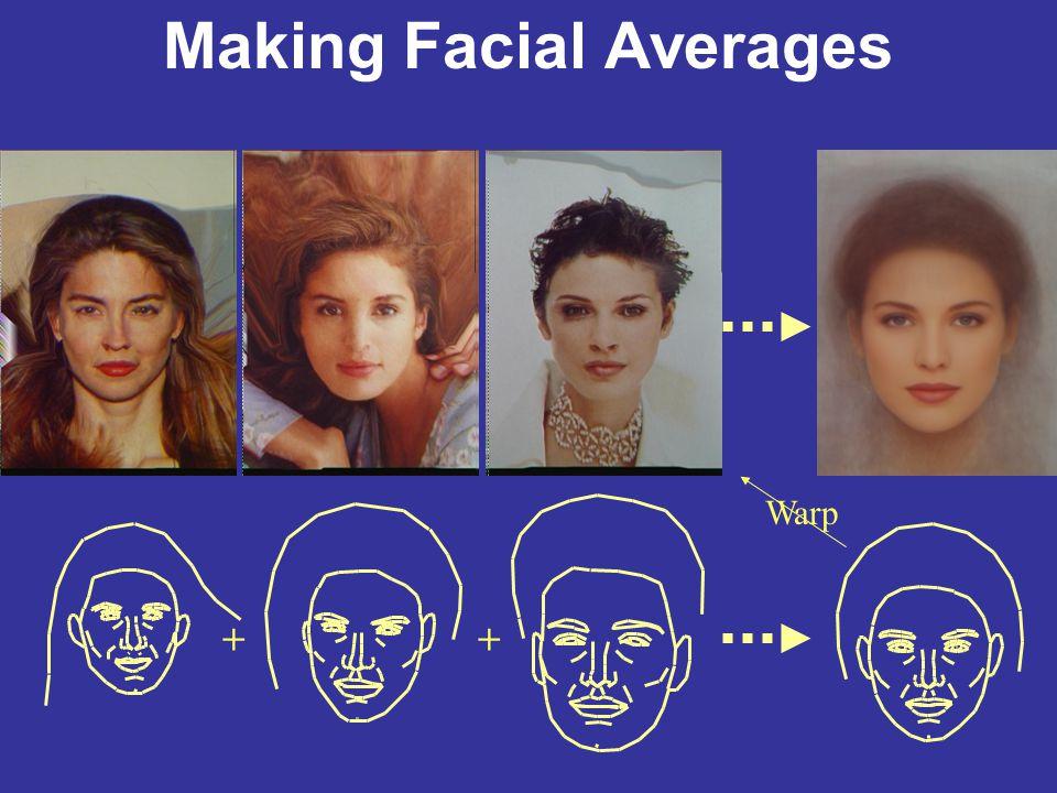 Making Facial Averages ++ Warp