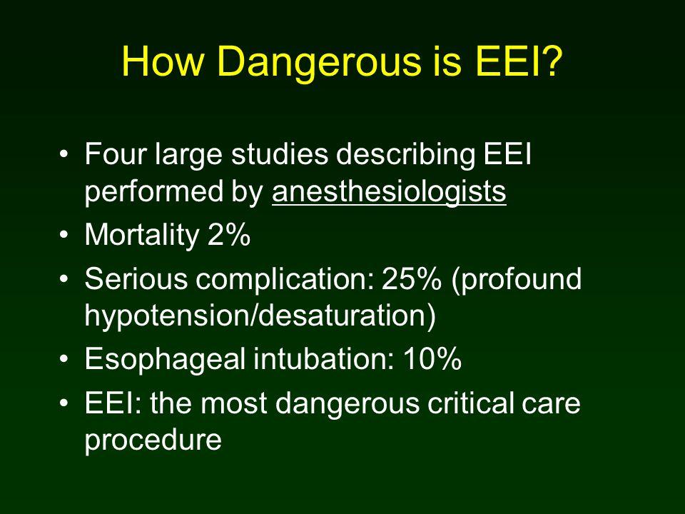 How Dangerous is EEI.
