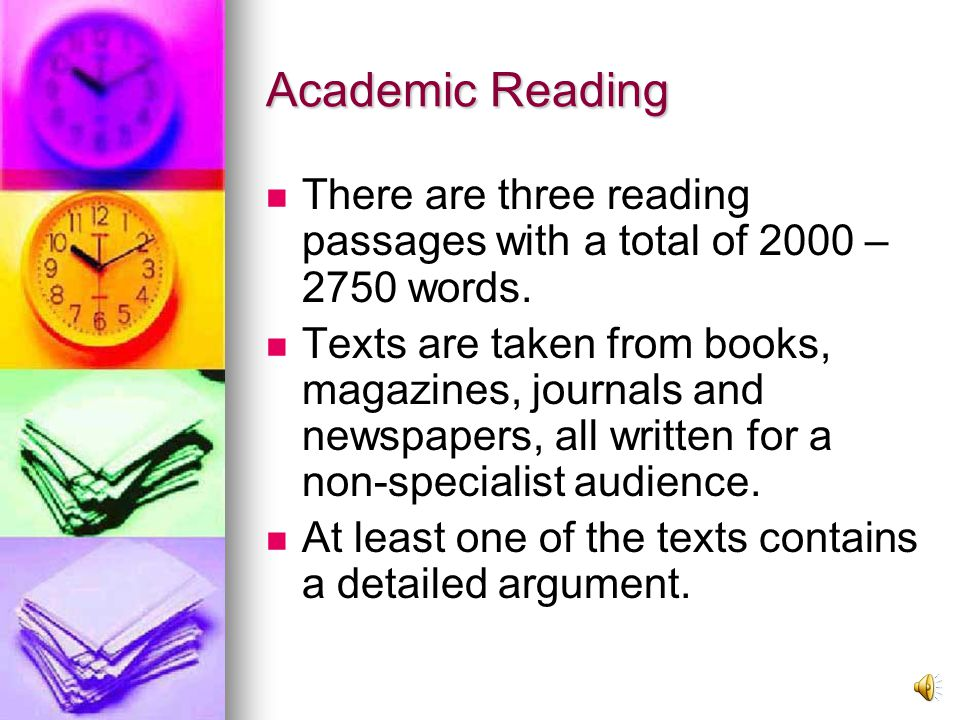 2nd Test (60 minutes) Reading