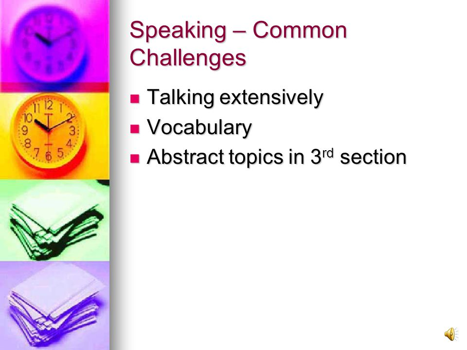 Speaking Section Rubric Rubric Rubric Video of Interview – 1 st section Video of Interview – 1 st section Video of Interview – 1 st section Video of Interview – 1 st section Score and comments Score and comments Score and comments Score and comments Video of Interview – 2 nd section Video of Interview – 2 nd section Video of Interview – 2 nd section Video of Interview – 2 nd section Score and comments Score and comments Score and comments Score and comments Video of Interview – 3 rd section Video of Interview – 3 rd section Video of Interview – 3 rd section Video of Interview – 3 rd section Score and comments Score and comments Score and comments Score and comments
