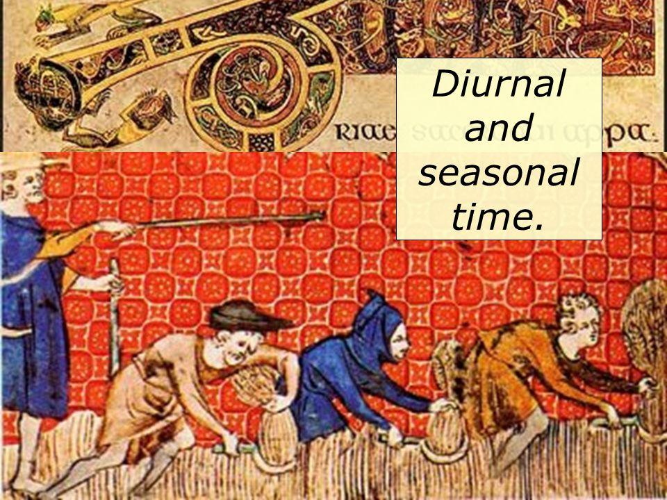 Diurnal and seasonal time.