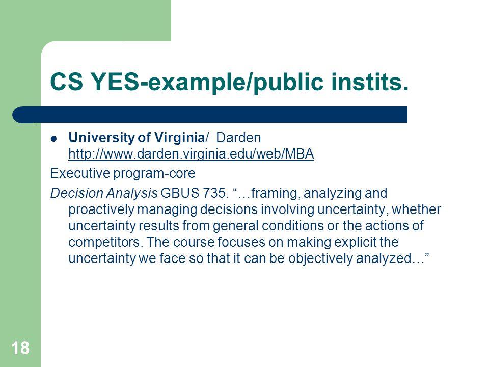 18 CS YES-example/public instits.