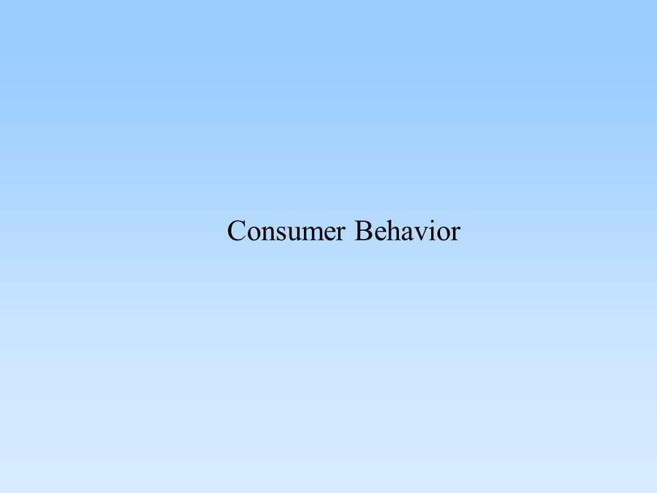 Personal Determinants of Consumer Behavior PSYCHOLOGICAL FACTORS Needs and Motives Perceptions Attitudes Learning Self-Concept