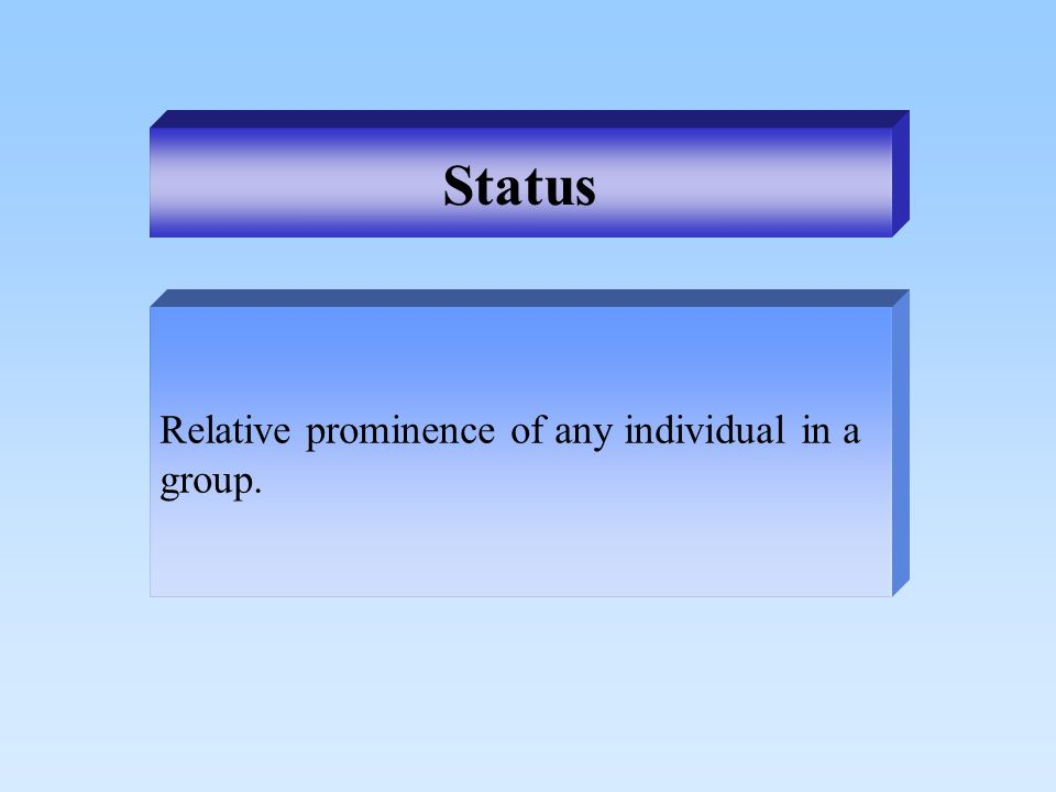 Value, attitude, or behavior that a group deems appropriate for its members. Norm