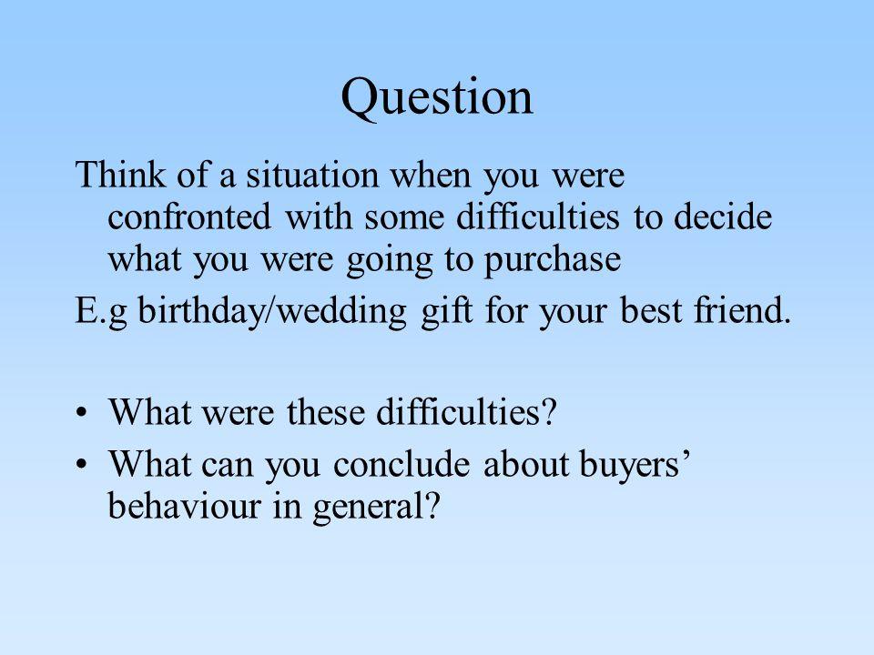 Buyer behavior of ultimate consumers. Consumer Behavior