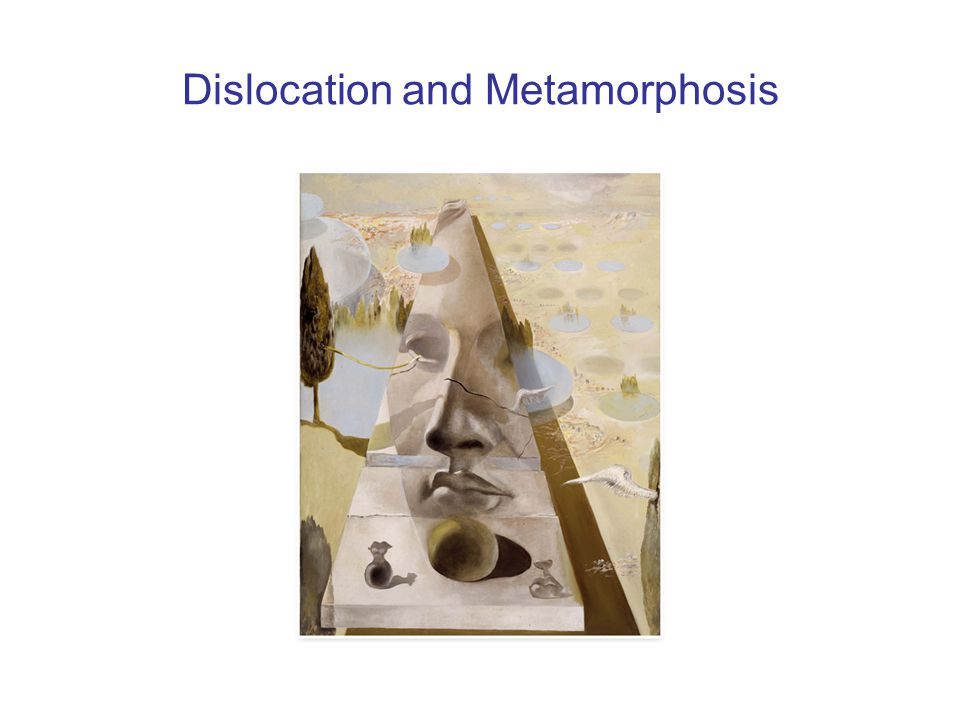 Dislocation and Metamorphosis