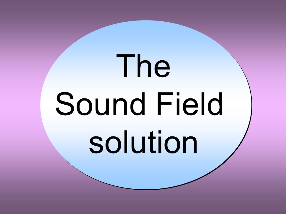 Optimizing SAI for hearing aid and cochlear implant users Reduce Background noise Reduce reverberation time (- but) Enhance early reflections (- but) Use directional microphones (- but) Use remote (wireless) microphones (- but) Use beam-forming (super-directional) microphones (- but) Use Sound-Field amplification (- but)