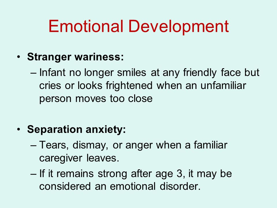 Theories of Infant Psychosocial Development Psychoanalytic Theory Freud: Oral and Anal Stages Oral stage (first year): The mouth is the young infant's primary source of gratification Anal stage (second year): Infant's main pleasure comes from the anus (e.g.