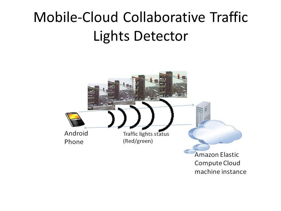 Mobile-Cloud Collaborative Traffic Lights Detector