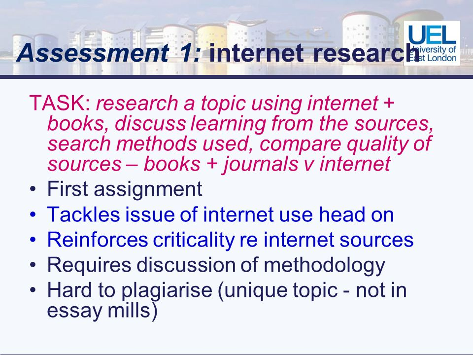 Outcome Significant drop in plagiarism rates in the module 2001-02 18% 2004-05 5% 2007-08 2% Conclusion Use of Carroll & Stefani approach effective in micro-management of a module