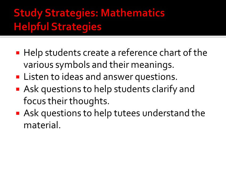  Help students create a reference chart of the various symbols and their meanings.