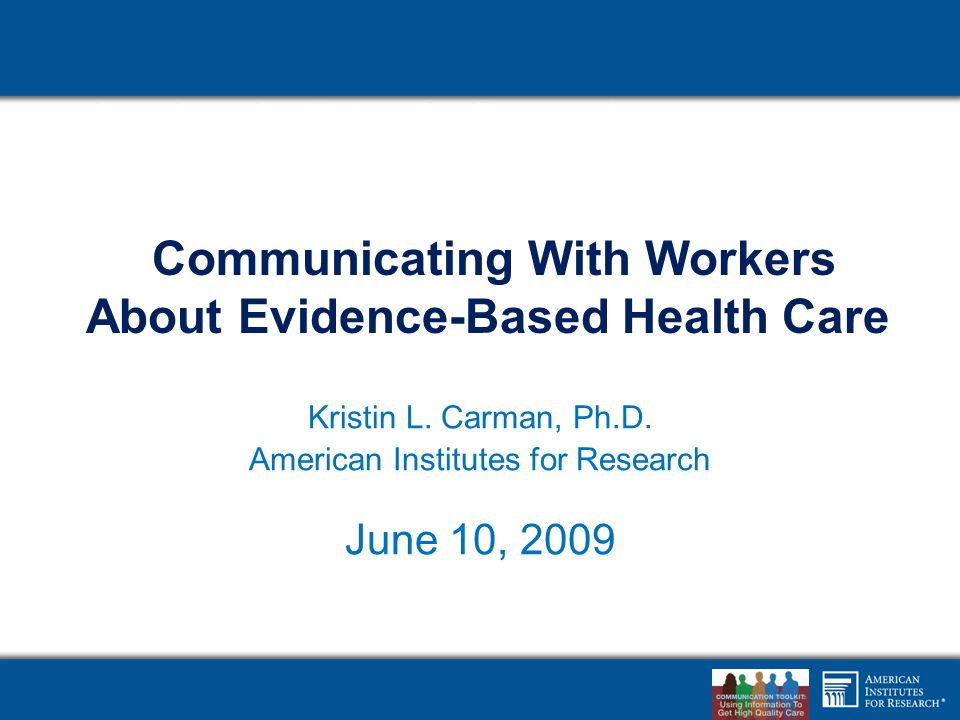 Employees Have Limited Experience in Engaging Physicians 22