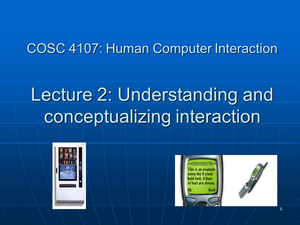 2 Recap HCI has moved beyond designing interfaces for desktop machines HCI has moved beyond designing interfaces for desktop machines About extending and supporting all manner of human activities in all manner of places About extending and supporting all manner of human activities in all manner of places Facilitating user experiences through designing interactions Facilitating user experiences through designing interactions Make work effective, efficient and safer Make work effective, efficient and safer Improve and enhance learning and training Improve and enhance learning and training Provide enjoyable and exciting entertainment Provide enjoyable and exciting entertainment Enhance communication and understanding Enhance communication and understanding Support new forms of creativity and expression Support new forms of creativity and expression